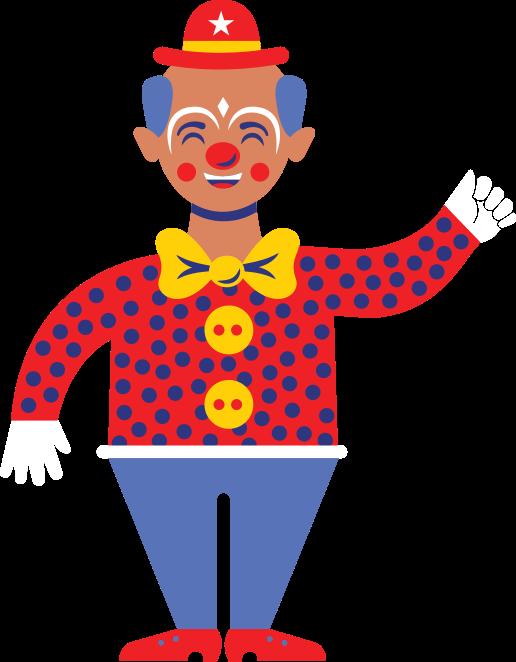 Image Clown parade lineup - macy's thanksgiving day parade